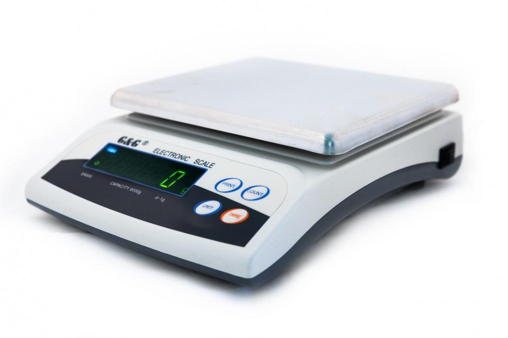Digitální váha G&G E6000-1   6kg x 0.1g