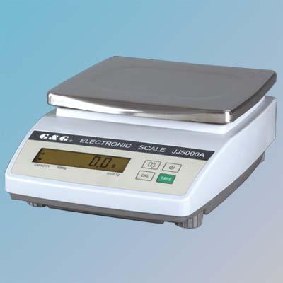 Digitální laboratorní váha G&G JJ5000A   5kg x 0.1g