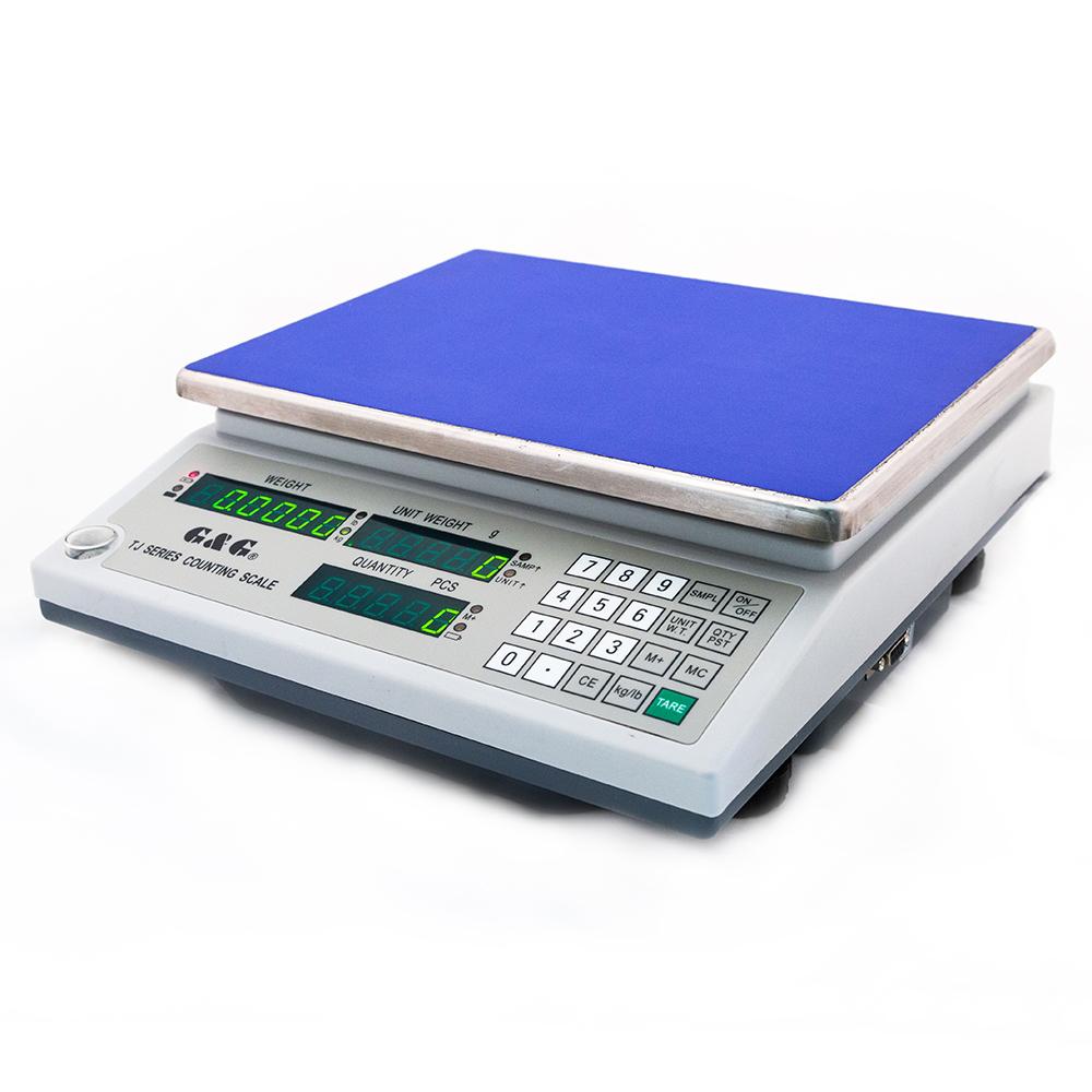 Digitální váha počítací G&G TJ6K   6kg x 0.2g