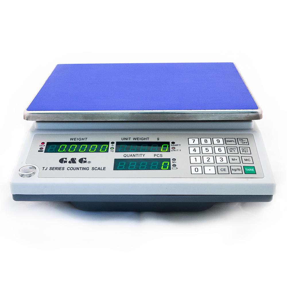 Digitální váha počítací G&G TJ15KA   15kg x 1g