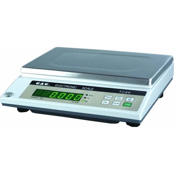 Průmyslová váha G&G TC3K   3kg x 0.1g